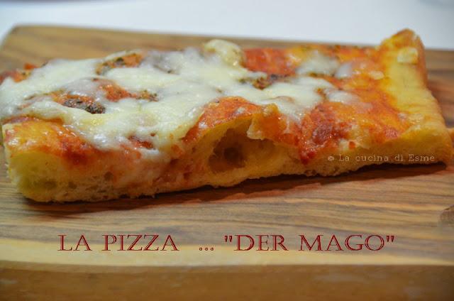Pizza con farina manitoba a lunga lievitazione con poco ...